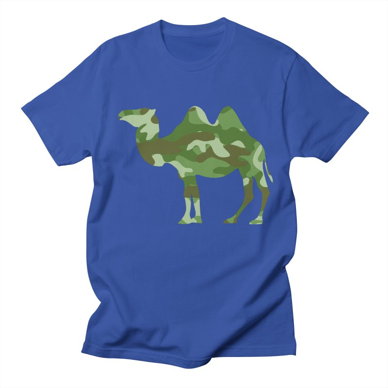 Camelflauge Men's T-shirt by Jonah Makes Art
