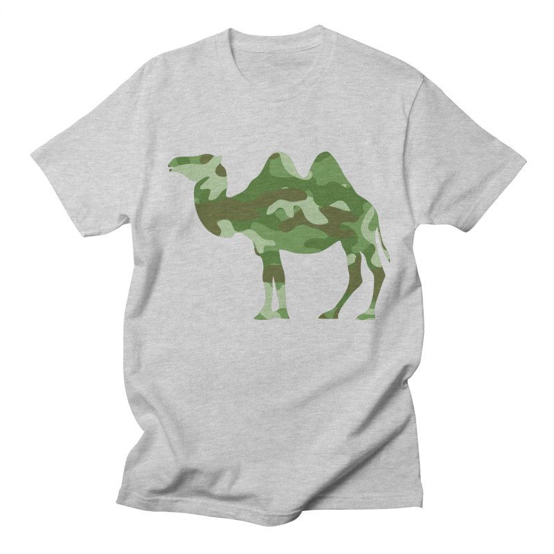 Camelflauge Men's T-shirt by Jonah Makes Art