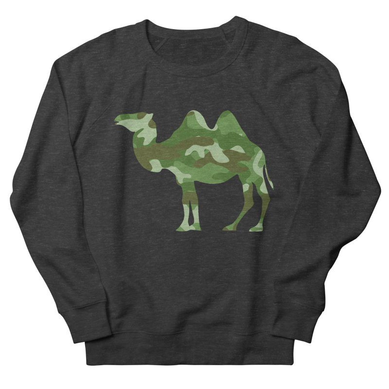 Camelflage Women's Sweatshirt by Jonah Makes Art