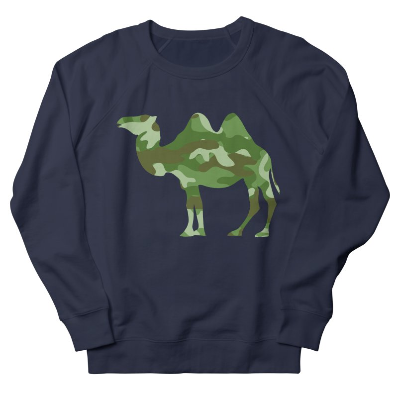 Camelflauge Women's Sweatshirt by Jonah Makes Art
