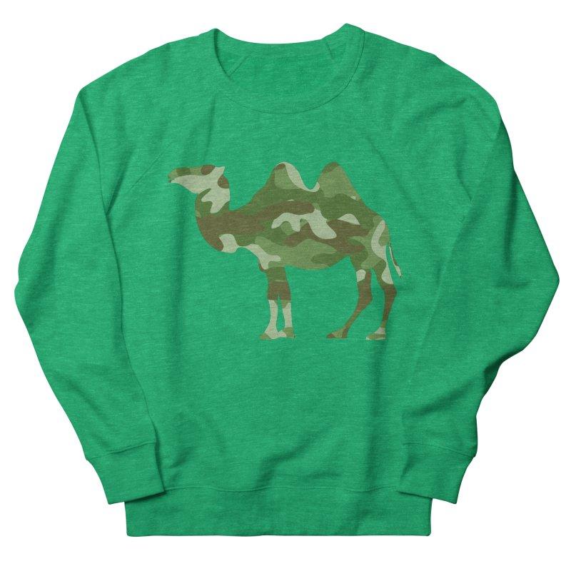 Camelflauge Men's Sweatshirt by Jonah Makes Art