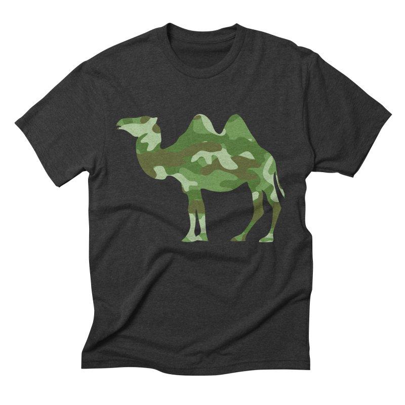 Camelflauge Men's Triblend T-shirt by Jonah Makes Art