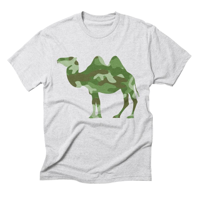 Camelflauge Men's Triblend T-shirt by Jonah Makes Art