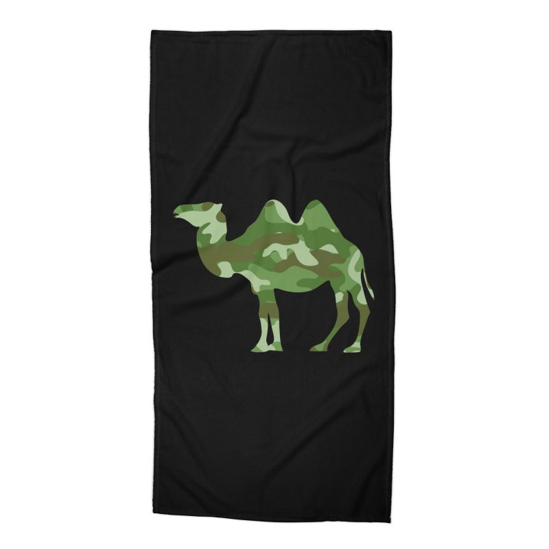 Camelflauge Accessories Beach Towel by Jonah Makes Art