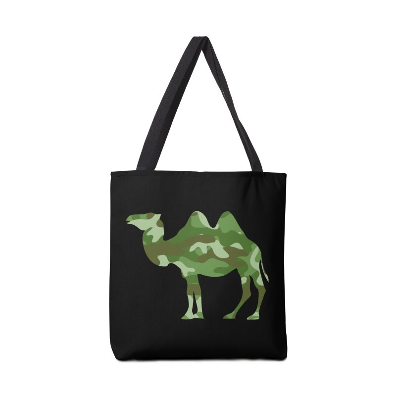 Camelflage Accessories Bag by Jonah Makes Art