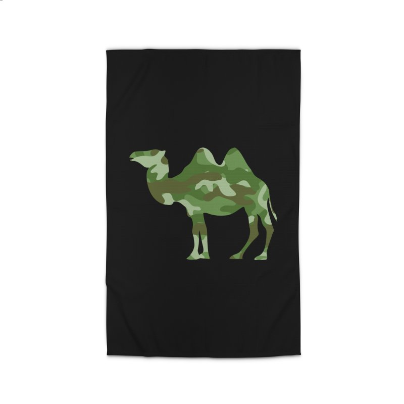 Camelflauge Home Rug by Jonah Makes Art