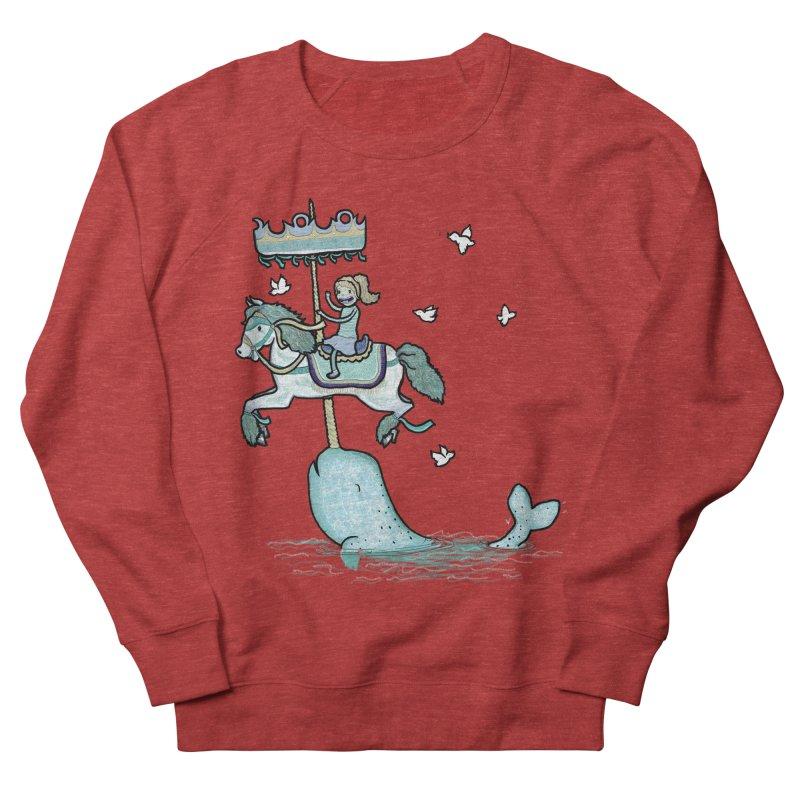 Narwhal Carousel Women's Sweatshirt by Jonah Makes Art