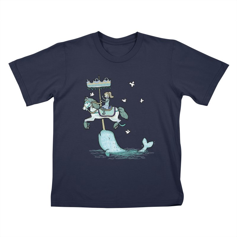 Narwhal Carousel    by Jonah Makes Art