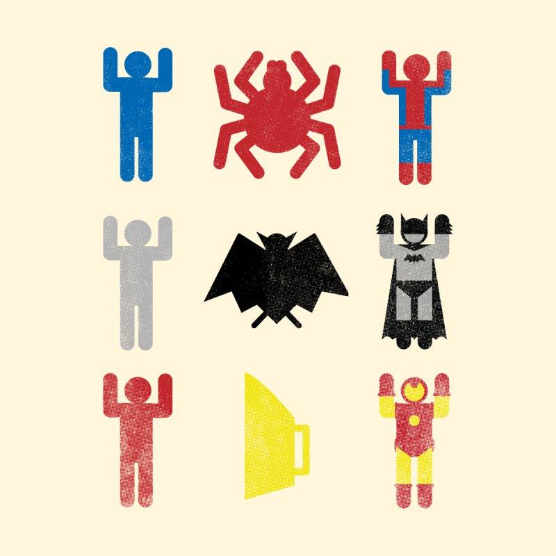 Superheroic Minimalism by Jonah Makes Art