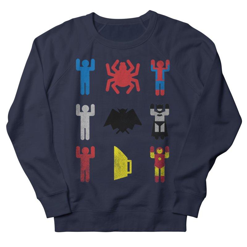 Superheroic Minimalism Women's Sweatshirt by Jonah Makes Art