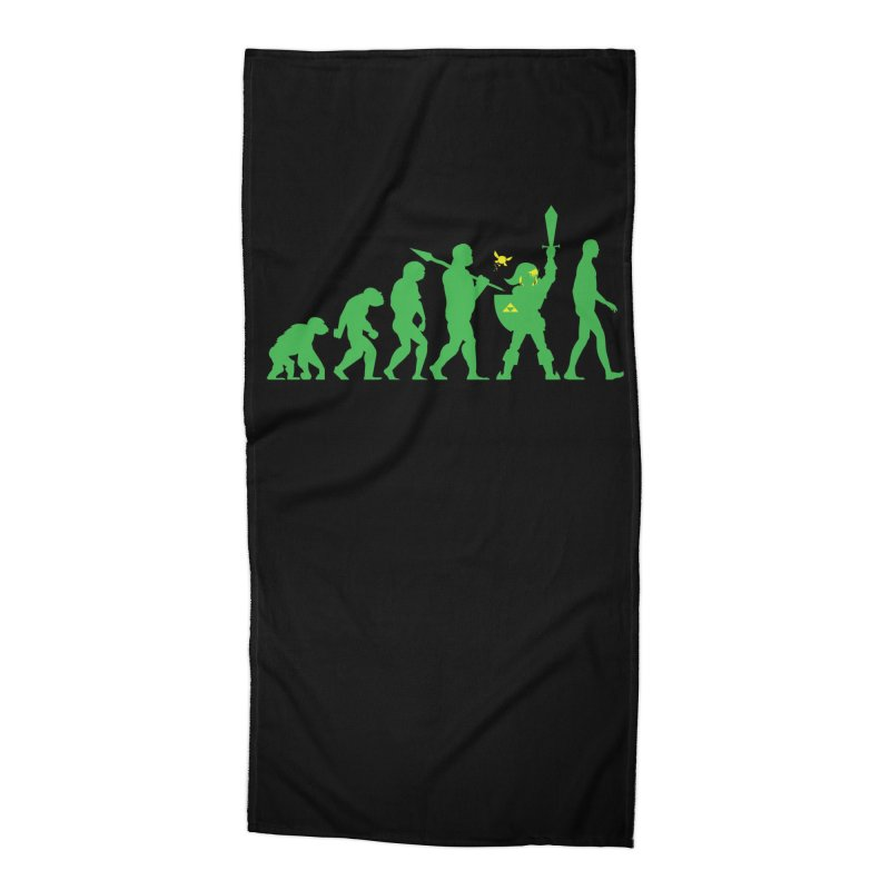 Missing Link Accessories Beach Towel by Jonah Makes Art