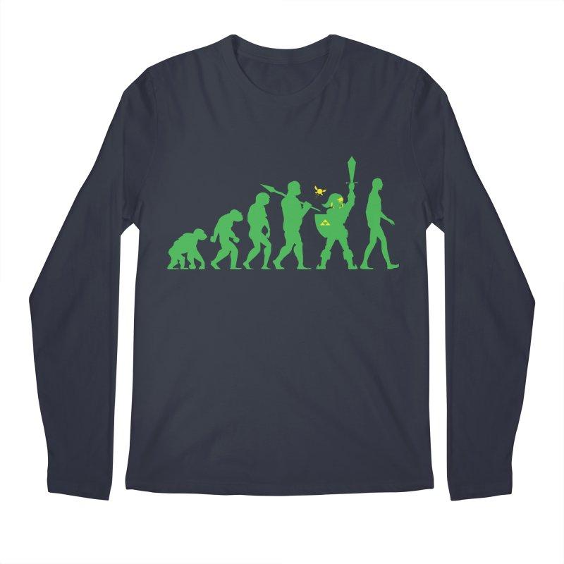 Missing Link Men's Longsleeve T-Shirt by Jonah Makes Art