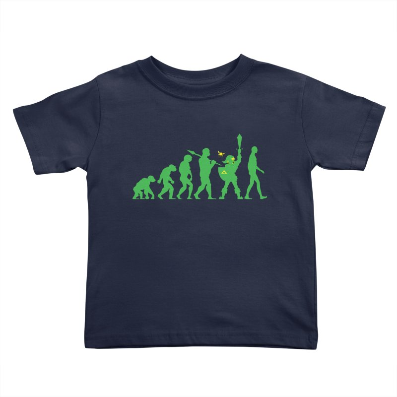 Missing Link Kids Toddler T-Shirt by Jonah Makes Art