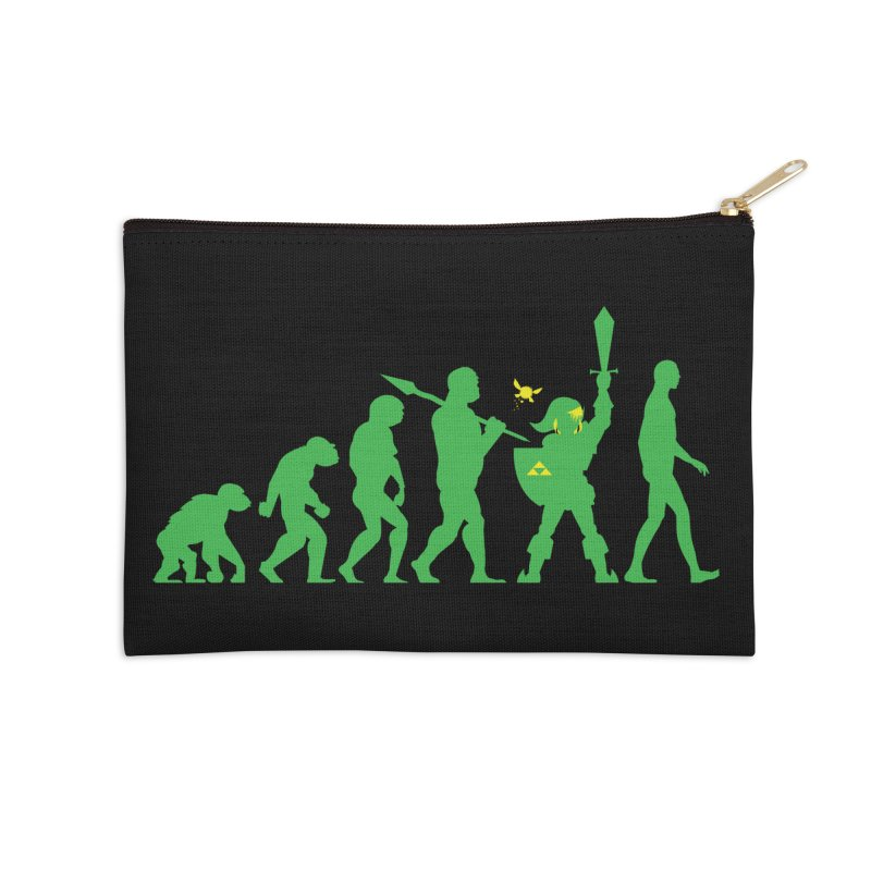 Missing Link Accessories Zip Pouch by Jonah Makes Art