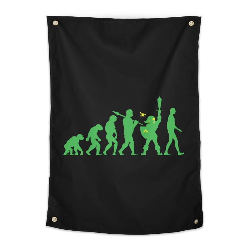 Missing Link Home Tapestry by Jonah Makes Art