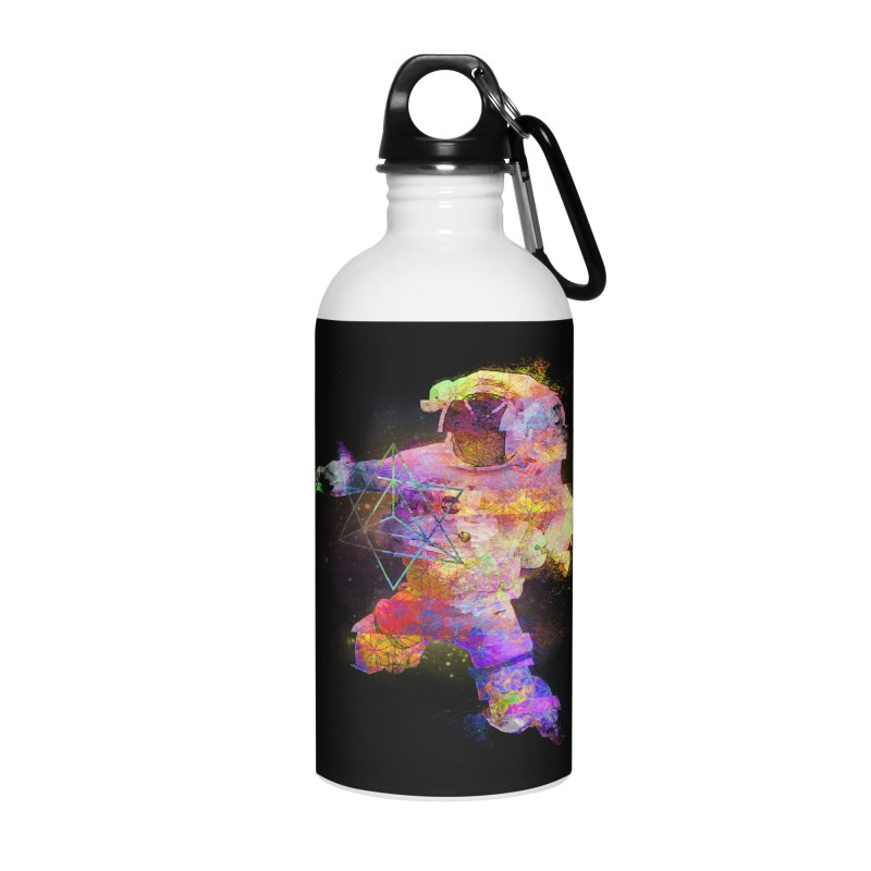 Space Trippin Accessories Water Bottle by Jonah Makes Art