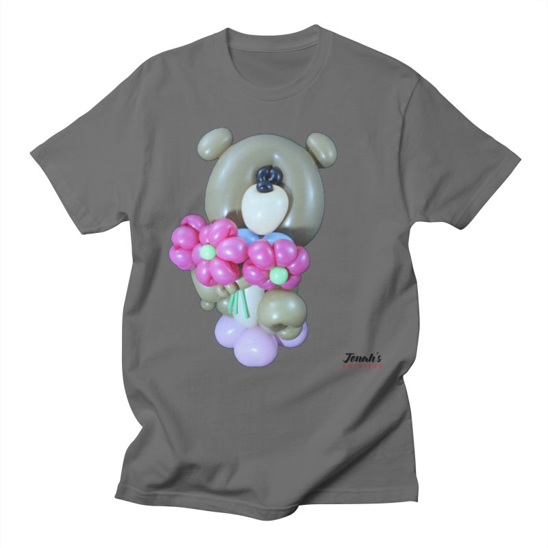 Bear with logo Men's T-Shirt by Jonah's Twisters Apparel Shop