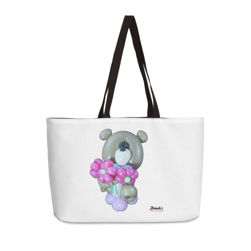 Bear with logo Accessories Bag by Jonah's Twisters Apparel Shop