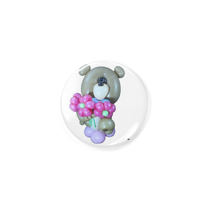 Bear with logo Accessories Button by Jonah's Twisters Apparel Shop
