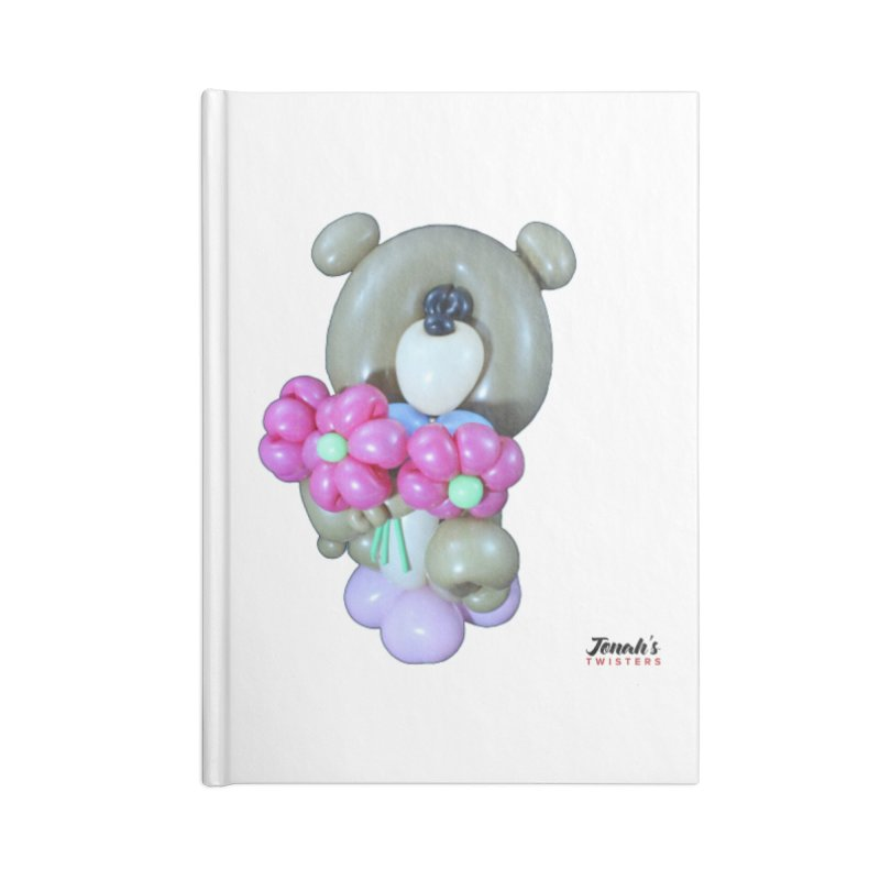Bear with logo Accessories Notebook by Jonah's Twisters Apparel Shop