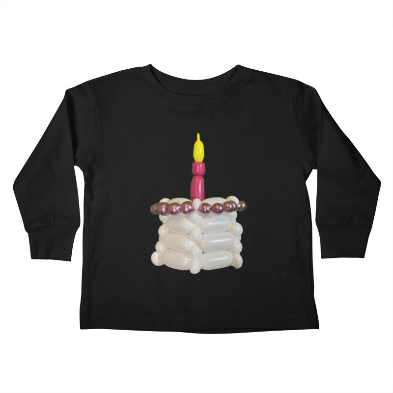 Pink Cake Kids Toddler Longsleeve T-Shirt by Jonah's Twisters Apparel Shop