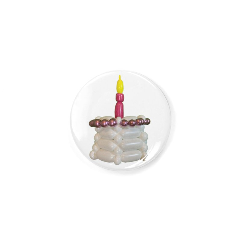 Pink Cake Accessories Button by Jonah's Twisters Apparel Shop