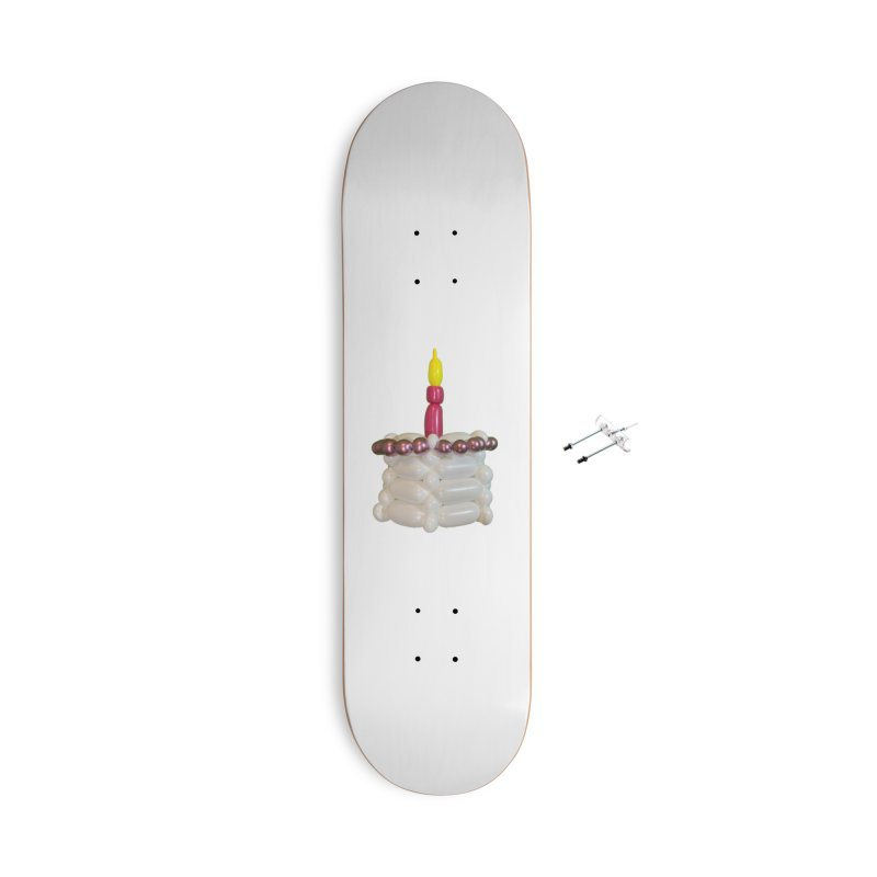 Pink Cake Accessories Skateboard by Jonah's Twisters Apparel Shop