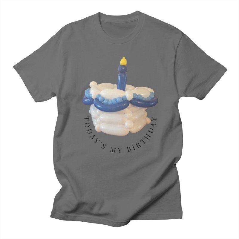 It's my birthday (Blue) Men's T-Shirt by Jonah's Twisters Apparel Shop