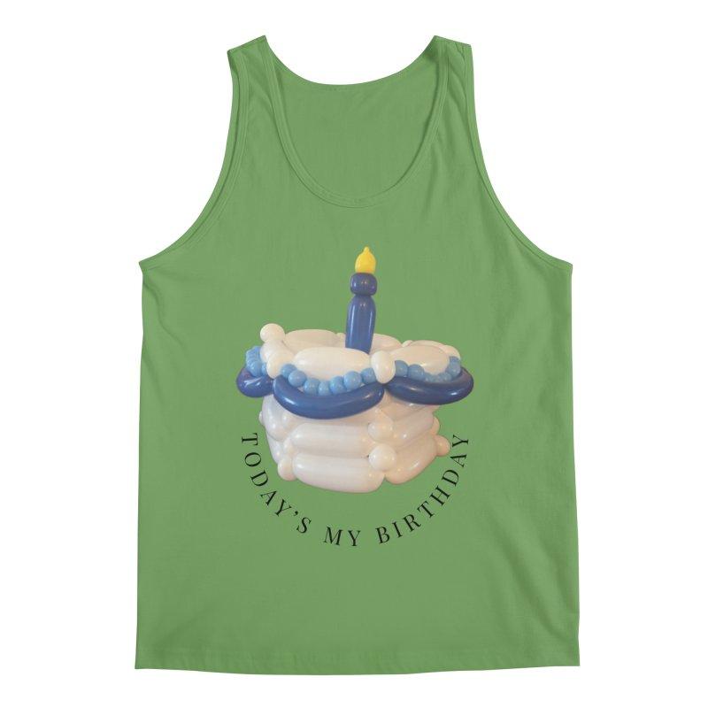 It's my birthday (Blue) Men's Tank by Jonah's Twisters Apparel Shop