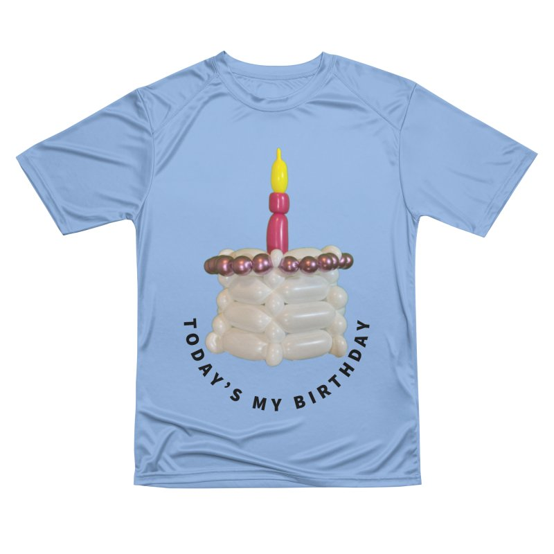 It's my birthday with a pink cake Men's T-Shirt by Jonah's Twisters Apparel Shop