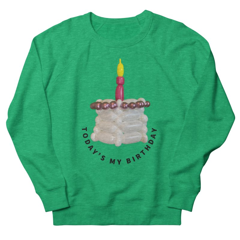It's my birthday with a pink cake Women's Sweatshirt by Jonah's Twisters Apparel Shop