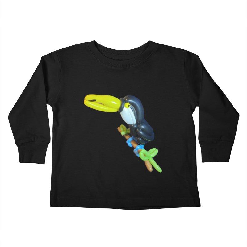 Tucan Kids Toddler Longsleeve T-Shirt by Jonah's Twisters Apparel Shop