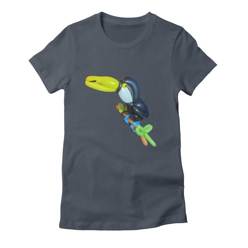 Tucan Women's T-Shirt by Jonah's Twisters Apparel Shop