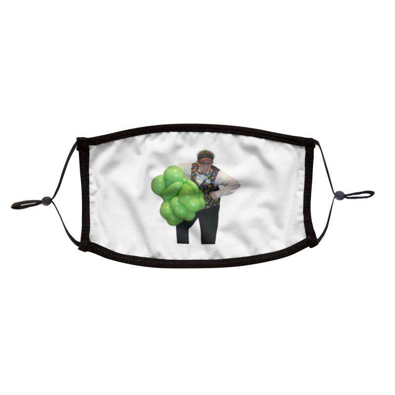 Jonah with hulk fist Accessories Face Mask by Jonah's Twisters Apparel Shop
