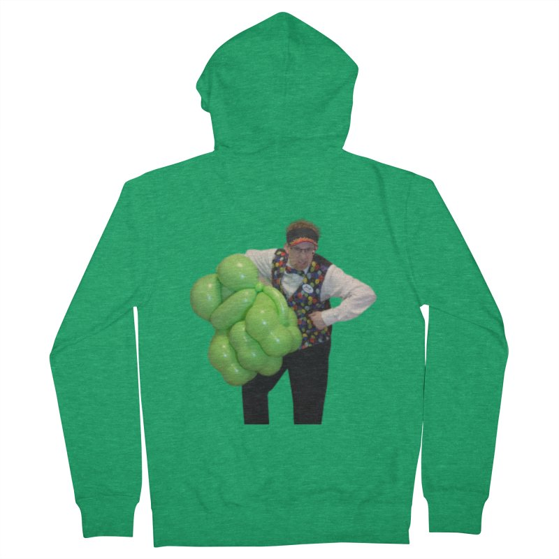 Jonah with hulk fist Women's Zip-Up Hoody by Jonah's Twisters Apparel Shop