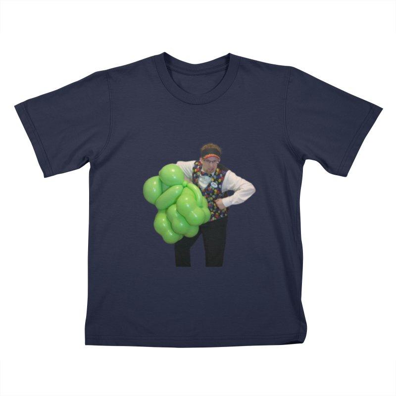 Jonah with hulk fist Kids T-Shirt by Jonah's Twisters Apparel Shop