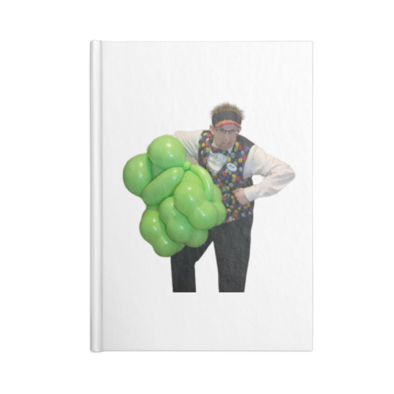 Jonah with hulk fist Accessories Notebook by Jonah's Twisters Apparel Shop