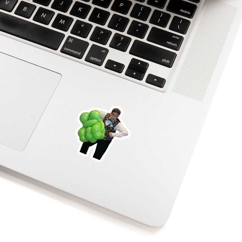 Jonah with hulk fist Accessories Sticker by Jonah's Twisters Apparel Shop
