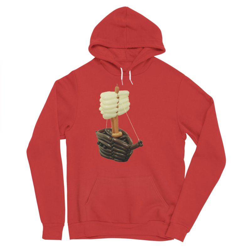 Ship Men's Pullover Hoody by Jonah's Twisters Apparel Shop