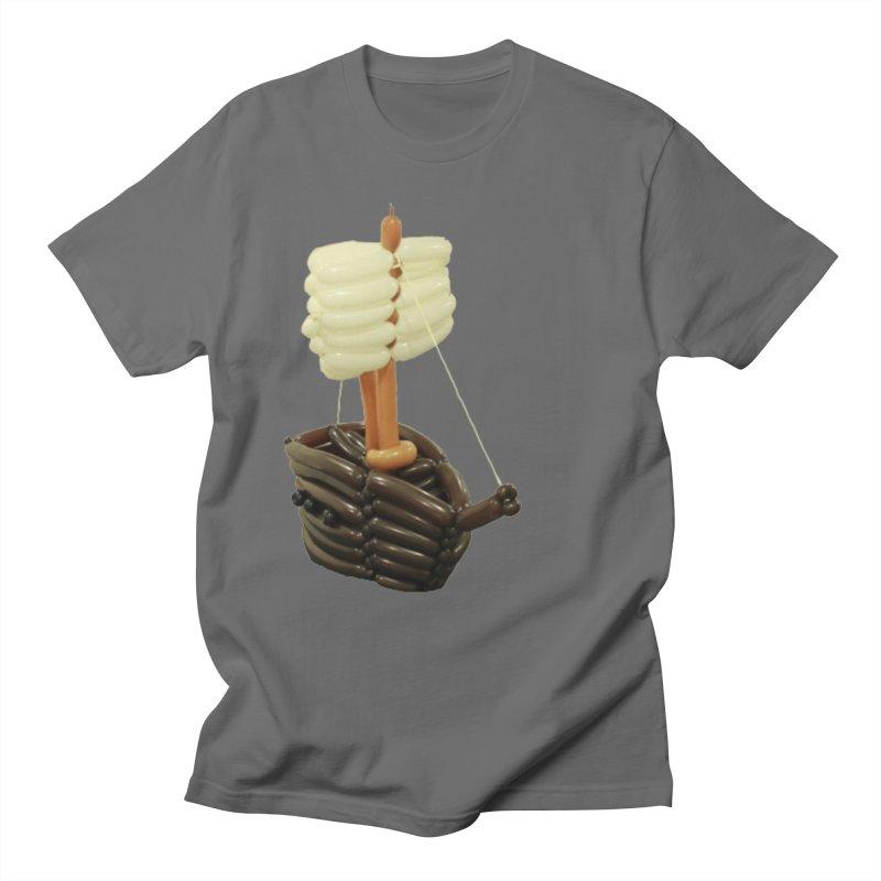Ship Men's T-Shirt by Jonah's Twisters Apparel Shop