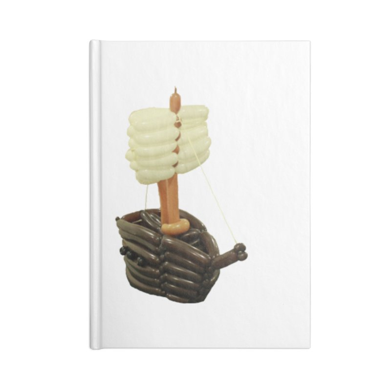Ship Accessories Notebook by Jonah's Twisters Apparel Shop