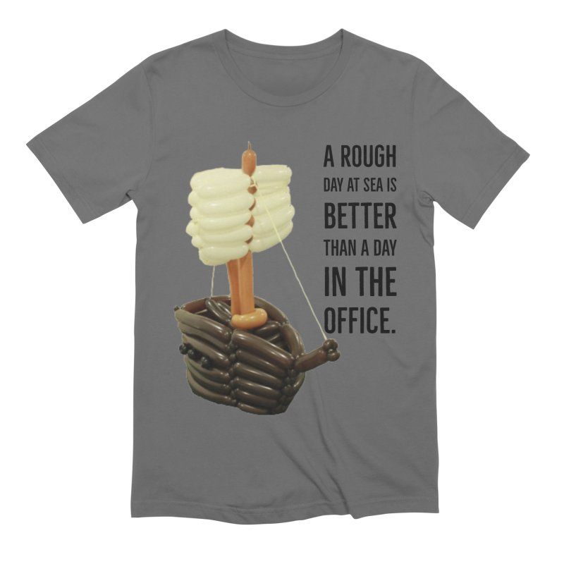 Ship with quote Men's T-Shirt by Jonah's Twisters Apparel Shop