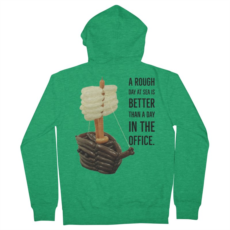 Ship with quote Men's Zip-Up Hoody by Jonah's Twisters Apparel Shop