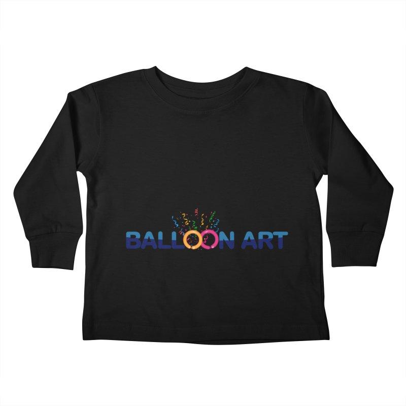Not bad balloon art logo Kids Toddler Longsleeve T-Shirt by Jonah's Twisters Apparel Shop