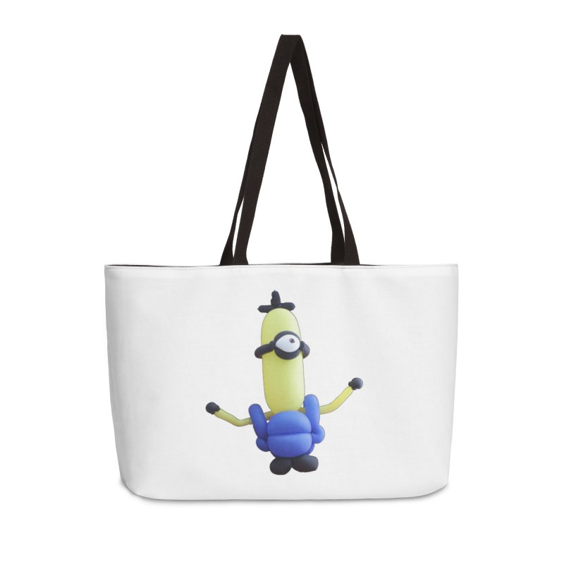 Yellow Man Accessories Bag by Jonah's Twisters Apparel Shop