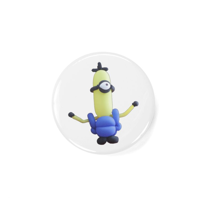 Yellow Man Accessories Button by Jonah's Twisters Apparel Shop