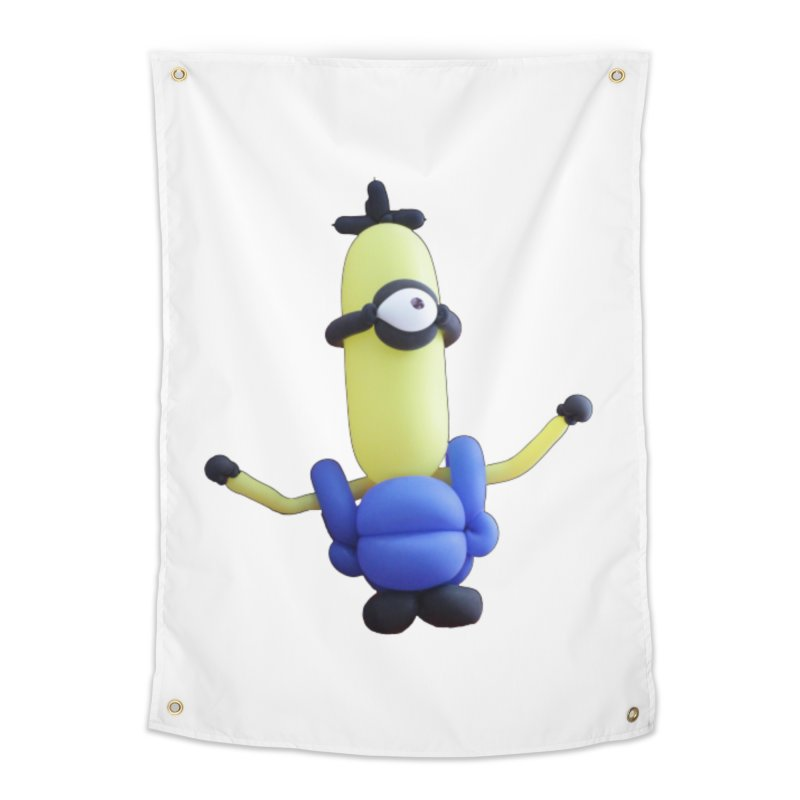 Yellow Man Home Tapestry by Jonah's Twisters Apparel Shop