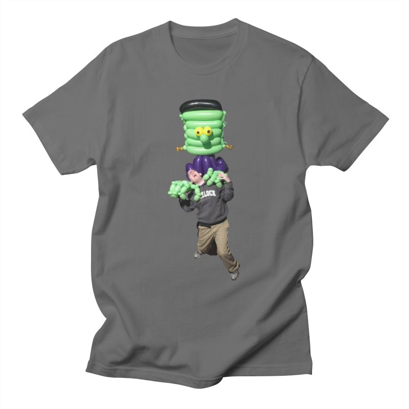 Jonah with Frankenstein's monster Men's T-Shirt by Jonah's Twisters Apparel Shop