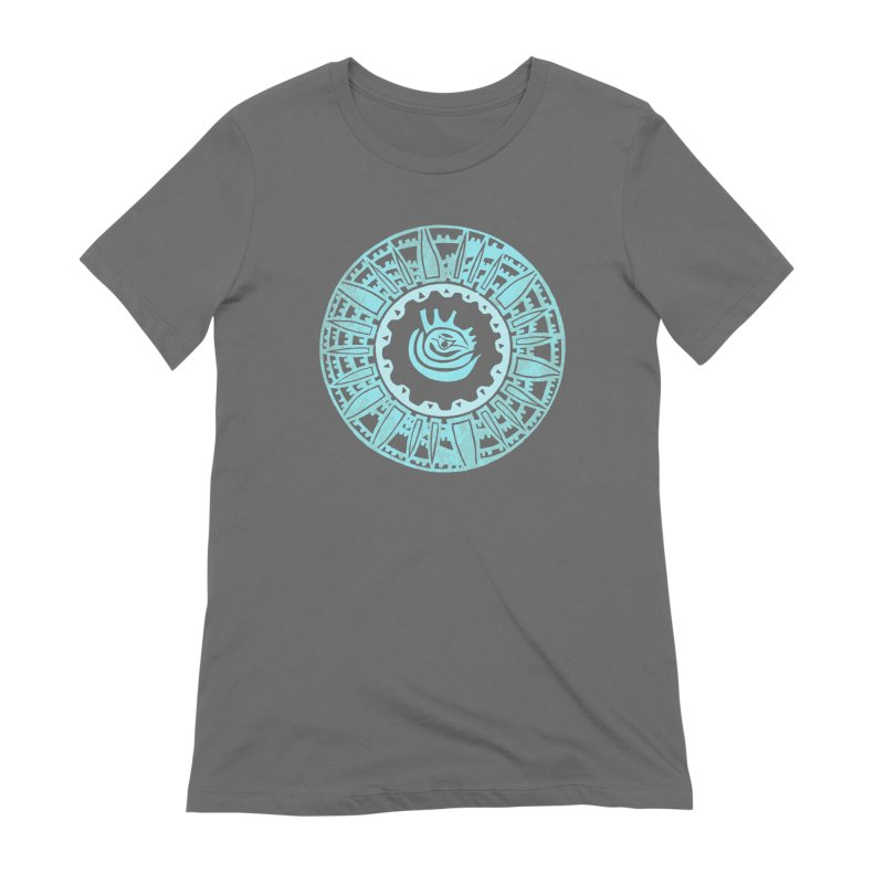 Heart Scenter Women's T-Shirt by jon cooney's print shop