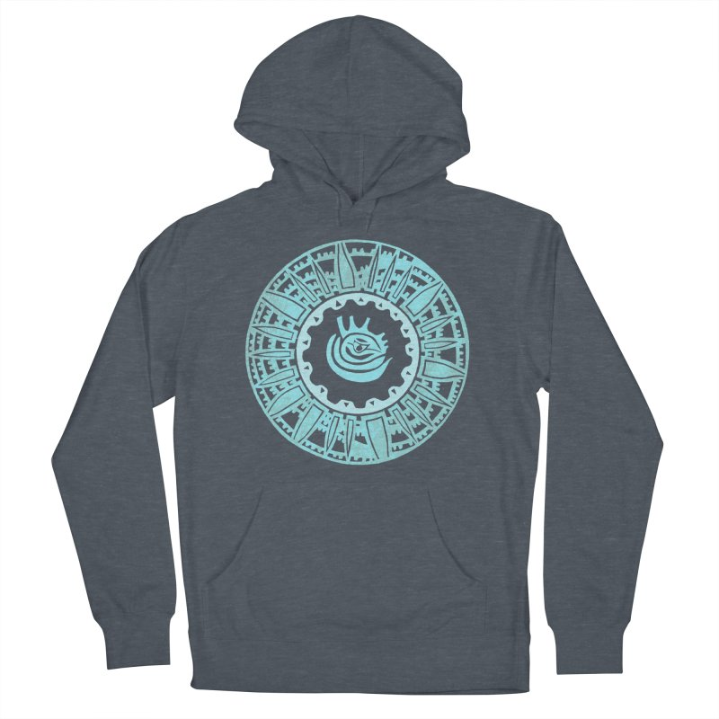 Heart Scenter Women's French Terry Pullover Hoody by jon cooney's print shop